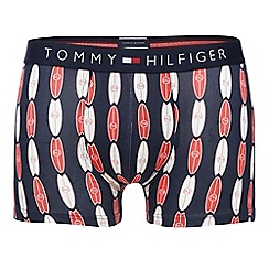 Tommy Hilfiger - Navy surfboard hipster trunks