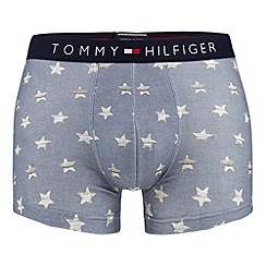 Tommy Hilfiger - Blue star print hipster trunks