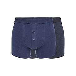 RJR.John Rocha - Pack of two navy boxers