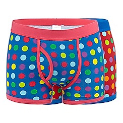 Red Herring - Pack of two blue spot trunks