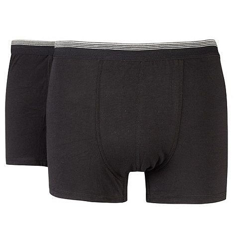 Thomas Nash - Pack of two black hipster trunks