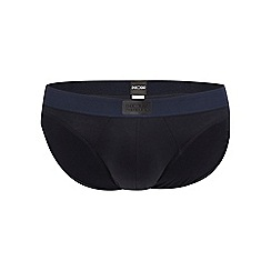 HOM - Navy low mini briefs