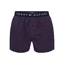 Tommy Hilfiger - Navy diamond print boxers