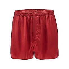 The Collection - Red silk boxers