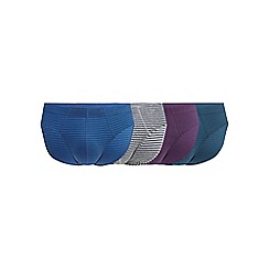 The Collection - Pack of four assorted striped print slips