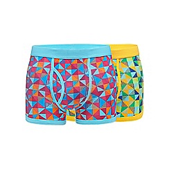 Red Herring - Pack of two triangle geometric trunks