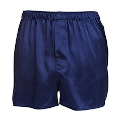 Thomas Nash - Royal blue silk boxers
