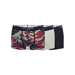Ted Baker - Pack of three assorted floral print boxers