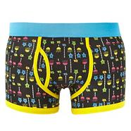 Black ocean game keyhole trunks