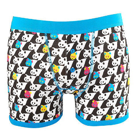 Red Herring - White panda printed boxer briefs
