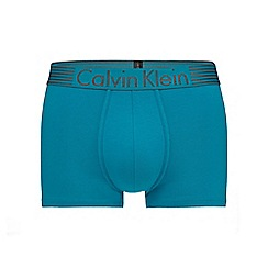 Calvin Klein - Blue 'Iron Strength' trunks