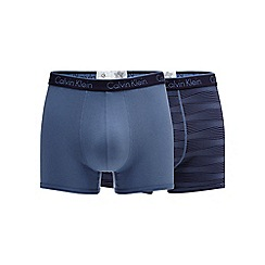 Calvin Klein - Pack of two cotton stretch trunks