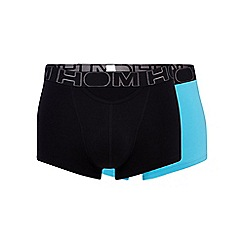 HOM - Pack of two turquoise boxer briefs