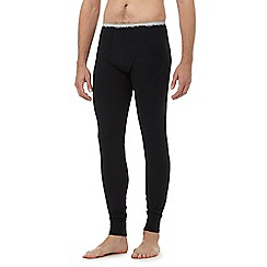 Gant - Black lightweight lounge bottoms