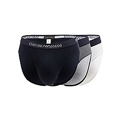 Emporio Armani - Pack of three multi-coloured branded briefs