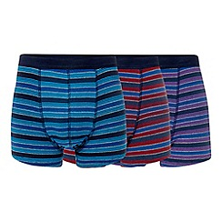 The Collection - Pack of three multicoloured hipster trunks