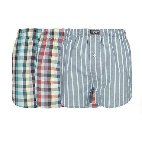 Mantaray - Pack of three patterned boxer shorts