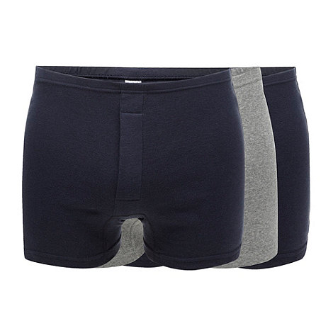 Thomas Nash - Pack of three multi plain boxers