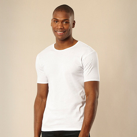 Thomas Nash - White crew neck t-shirt