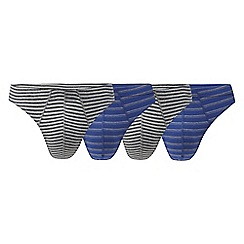 The Collection - Pack of four assorted striped thongs