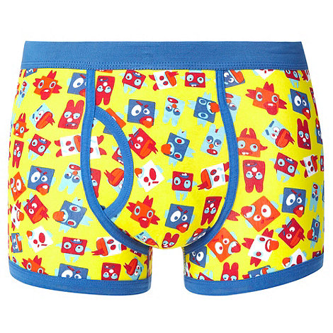 Red Herring - Yellow square character trunks