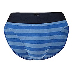 HOM - Navy striped briefs