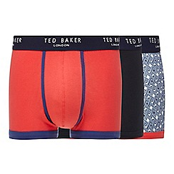 Ted Baker - Pack of three assorted printed boxers