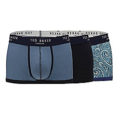 Ted Baker - Pack of three assorted printed trunks