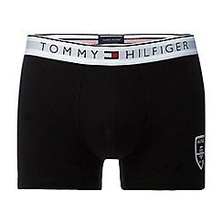 Tommy Hilfiger - Black logo applique trunks