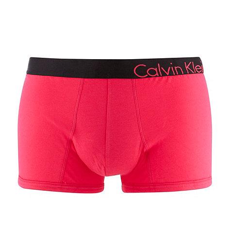Calvin Klein Underwear - Bright pink logo trunks