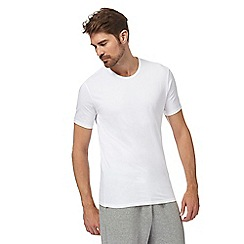 Calvin Klein - Pack of two white 'ID' t-shirts