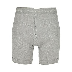 Calvin Klein - Grey button boxer shorts