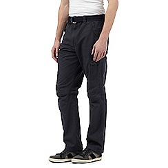 Mantaray - Big and tall navy zip off cargo trouser