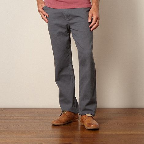 Mantaray - Grey corduroy trousers
