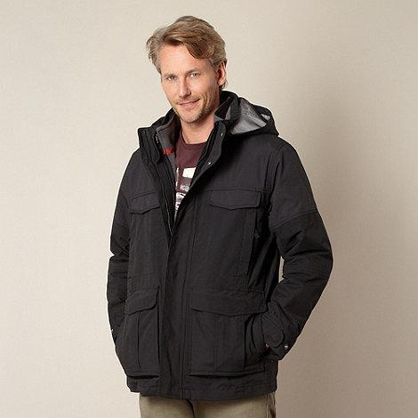 Mantaray - Black four pocket performance jacket