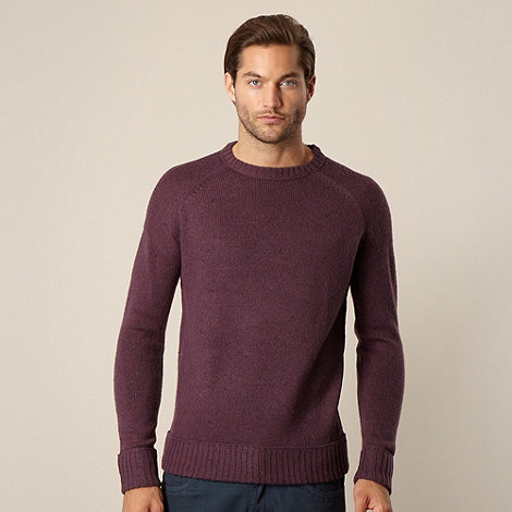 Mantaray - Purple flecked jumper