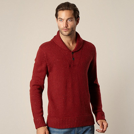 Mantaray - Dark red flecked jumper