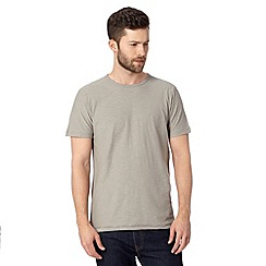 Mantaray - Grey basic t-shirt