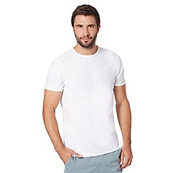 Mantaray - Big and tall white basic t-shirt