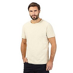Mantaray - Big and tall natural crew neck t-shirt