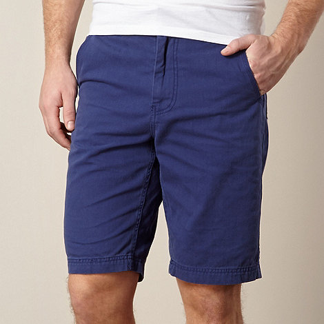 Mantaray - Dark blue chino shorts