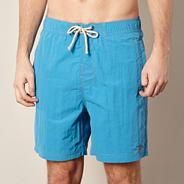 Big and tall turquoise swim shorts