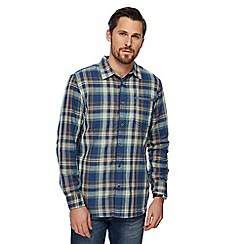 Mantaray - Big and tall multi-coloured checked shirt