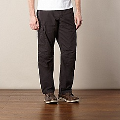 Mantaray - Black belted cargo trousers