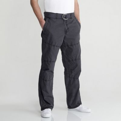 Charcoal Grey Utility Trousers