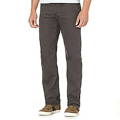 Mantaray - Grey herringbone trousers
