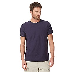 Mantaray - Big and tall navy plain t-shirt