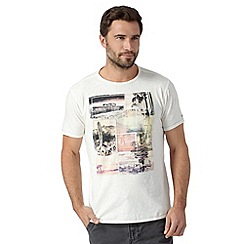 Mantaray - Off white vintage desert print t-shirt