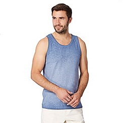Mantaray - Blue plain oil wash vest