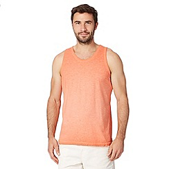 Mantaray - Big and tall orange oil wash vest